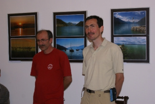 Artur Stachura i Lech Stachura na Korsyce