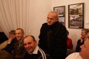 Pan Kazimierz Lis zagrał w filmie Zucha.