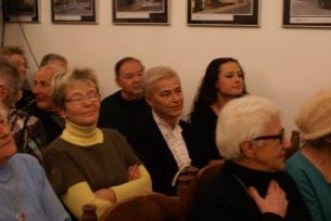 Wśród widzów filmu , odtwórczyni roli Grzesia, pani  Dorota Jankowska