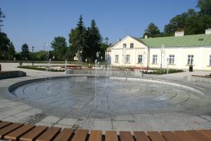 Fontanna w Parku Miejskim im. Tarnowskich