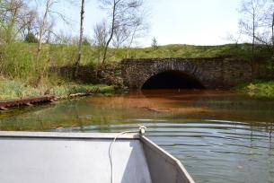 Kanał ulgi - rejs łódką