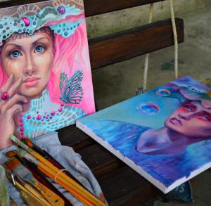 Plener artystyczny w Sielpi