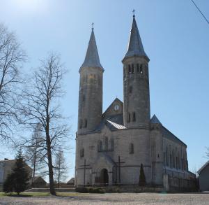 Kościół parafialny p.w. Matki Boskiej Częstochowskiej w Miedzierzy