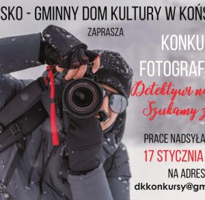 Detektywi na start - konkurs fotograficzny