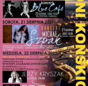 Dni Końskich z Blue Cafe, Michałem Szpakiem oraz Jerzym Kryszakiem