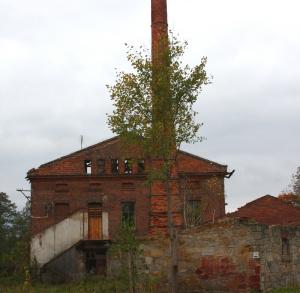Ruiny Zespołu Kaflarni i Papierni w Machorach