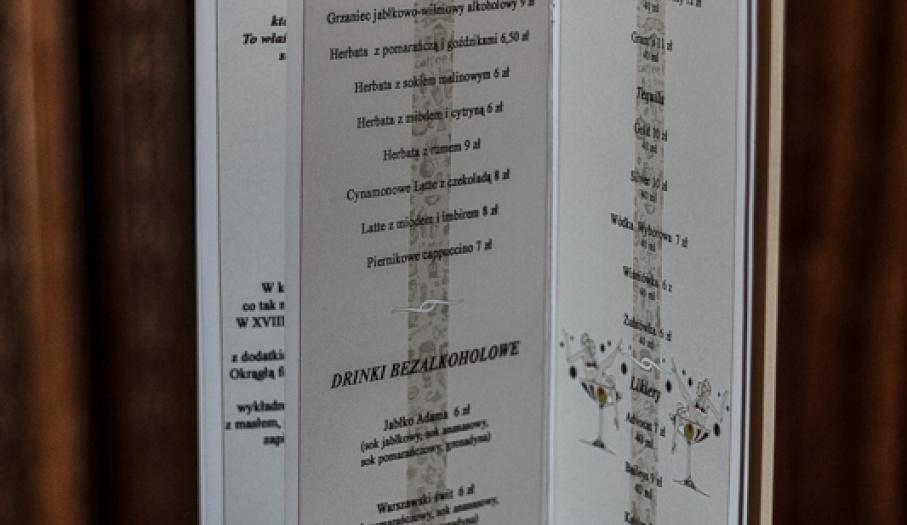 Bogate menu