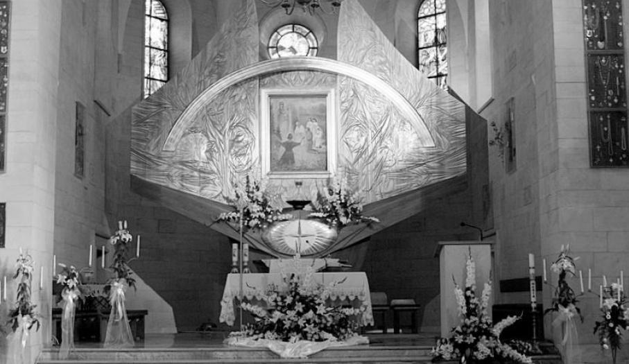 Sanktuarium Matki Bożej Wychowawczyni  - nawa główna