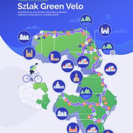 Green Velo najbardziej lubianym szlakiem rowerowym według DADELO.PL