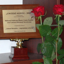 Gwóźdź Sezonu 2010 dla Centrum Informacji Turystycznej w Końskich