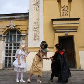 Anioł z Diabłem i Kleopatra na Ziemi Koneckiej
