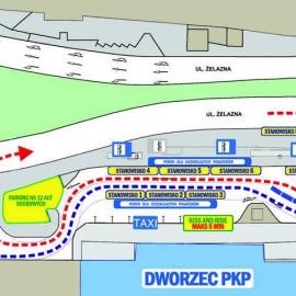 Zmiany na dworcu w Kielcach